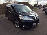 TOYOTA ALPHARD 3.0 V6 PREMIUM AS 8 SEATER SHOWCAR UPGRADED TO A 2008 FACELIFT