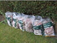 brick rubble free to collect from mattishall all bagged up