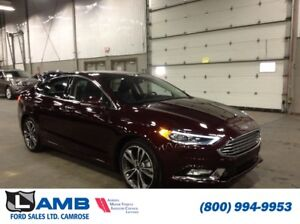 2018 Ford Fusion Titanium AWD with Moonroof, Intelligent Access