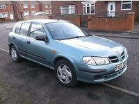 2002 Nissan Almera 1.8 AUTOMATIC, 5Dr, Mot May 17. £275. (P/X TO CLEAR)