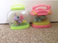 Littlest pet shop portable pets in jar