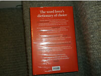 Brand new copy of Chambers Dictionary (latest edition) still in wrapping £30 ono