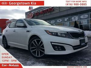 2015 Kia Optima SX TURBO | LEATHER | PANO ROOF | RARE FIND |