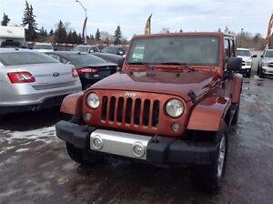 2014 Jeep Wrangler Unlimited Sahara | Removable Roof/Doors | Edmonton Edmonton Area image 1