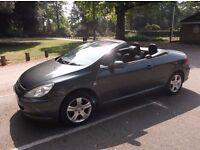 Peugeot 307cc 2.0l Petrol Manual Convertible 2005- New MOT FSH