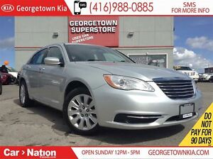 2012 Chrysler 200 LX ALLOY WHEELS| BLUE TOOTH| ONE OWNER| LOW KM
