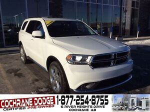 2015 Dodge Durango Limited w/DUAL HEADREST DVD!