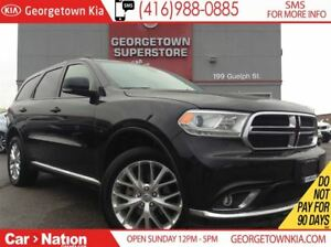 2016 Dodge Durango Limited SUNROOF AWD LEATHER BACK UP CAM
