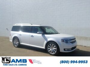 2013 Ford Flex Limited AWD with Adaptive Cruise, Moonroof and Na