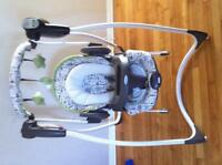 Graco bounce 2 in 1 swing and chair