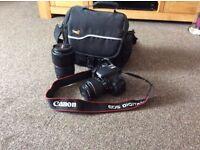 Canon EOS 600D / Rebel T3i 18.0MP Digital SLR Camera , with 18-55 lens
