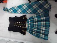 Highland dancing Aboyne dress