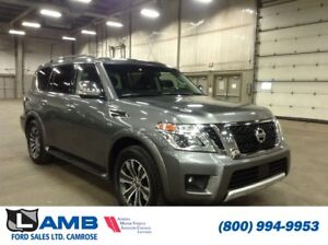 2017 Nissan Armada SL 4x4 with Leather, Sunroof and Navigation
