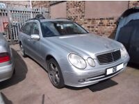 MERCEDES W211 E CLASS E280 CDI FRONT WING SILVER ,BREAKING REST OF CAR ,ENGINE,GEARBOX,LEATHER SEATS