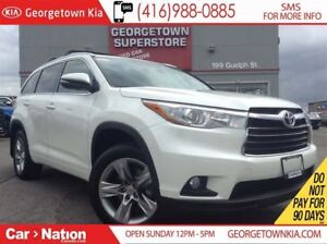 2015 Toyota Highlander Limited | NAVI | PANO ROOF | LEATHER | AW