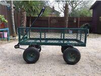 Metal garden trolley/festival trolley