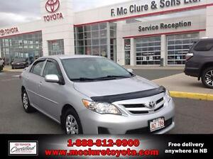 2011 Toyota Corolla CONVENIENCE PACKAGE