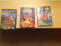 3 brand new Scooby doo movies dvd
