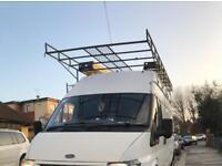 Transit roof rack LWB high top