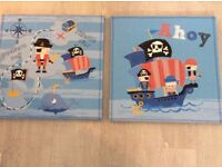 2 next pirate canvases
