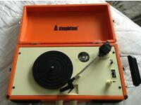 Steepletone SRP012 3-Speed Portable Record Player