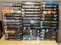 43 CLIVE CUSSLER HB BOOKS + 130 HB BOOK'S