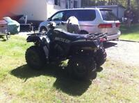 2004 arctic cat 650twin 4x4 with HMF Exhuast