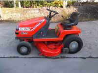 Kubota T1600 Diesel HST Ride on mower.