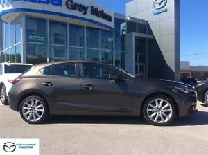 2014 Mazda MAZDA3 GT-SKY, P. Sunroof, Heated Leather, one owner!