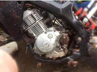 Yamaha 125 engine, ybr125 xt125 ttr125