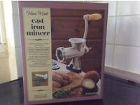 BRAND NEW Cast Iron Meat Mincer
