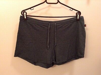 Gray Big Flirt shorts with drawstring waist women's size M ()