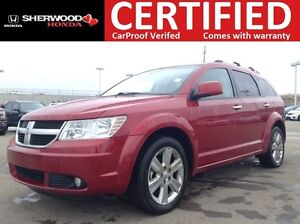 2010 Dodge Journey R/T AWD | HEATED LEATHER | REMOTE START | BAC