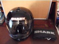 """Shark XRF Road runner full face helmet with Bag. size """"M"""""""