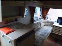 2 berth caravan sprite super
