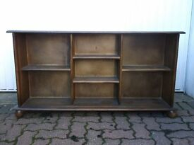 Old Charm bookcase/display cabinet in good condition.