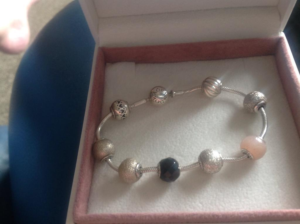 5e7e6c10e Pandora essence bracelet and charms   in Chadderton, Manchester ...