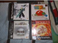 More miscellaneous gaming bits, G&W, virtual boy, PS1 etc.