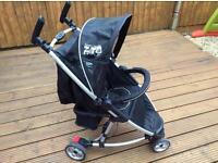 Zeta lite 3 wheel stroller