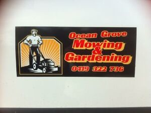 Ocean Grove Mowing and Gardening business for sale