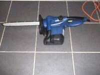 CHAINSAW ELECTRIC CORDED,16 INCH BLADE, 2100w,3m CABLE,GOOD WORKING ORDER