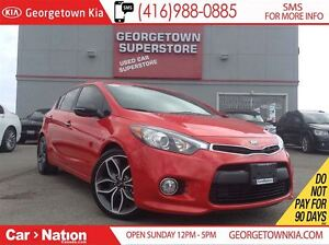 2015 Kia Forte5 1.6L SX | BACK UP CAM | LEATHER | TURBO |