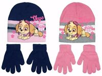 Paw patrol skye winter hat sets