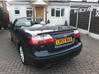 Saab 9-3 Aero Convertible 2.0 turbo 210bhp Automatic, Full Service History, New Timing chain