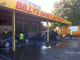 Hand Carwash to RENT