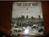 B00K OF THE GREAT WAR WITH DVD MAPS AND POSTERS COMES INBOX