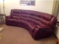 DFS CURVED SETTEE