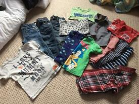 Bundle of boys clothes Age 3-4 yrs next, joules, F&F, Ted baker & Bluezoo EUC