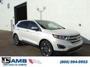 2016 Ford Edge Titanium AWD with Canadian Touring Package, BLIS
