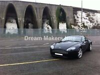 Aston Martin V8 Vantage | Bentley Contiental GT | Wedding Car Hire | Proms | Chauffeur Driven